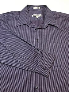 Pronto Uomo Mens Button Up Dress Shirt Size XL GREAT CONDITION!