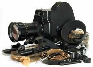 KRASNOGORSK-3-16mm-Movie-Camera-FULL-SET-Meteor-5-1-17-69mm-f1-9-M42-lens-NEW