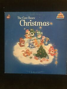 The-Care-Bears-Christmas-Holiday-1983-Kid-Stuff-KSS5040-Vinyl-LP-Record-12-Inch