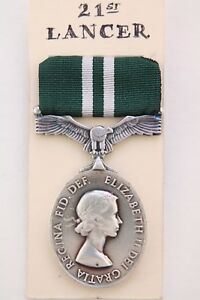 Qe-II-Raaf-Aaf-Rafvr-Army-Navy-Volunteer-Aria-Efficienza-lungo-Servizio-Medaglia