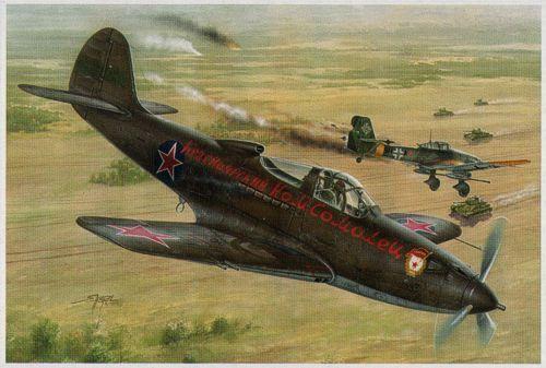 Special Hobby 1 32 BELL P-39Q N Airacobra' sovietico GUARDIA Reggimenti'