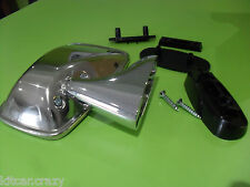 CLASSIC AUSTIN MINI STAINLESS STEEL DOOR / WING MIRROR LEFT HAND, KITCAR
