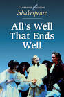 All's Well that Ends Well by William Shakespeare (Paperback, 1993)