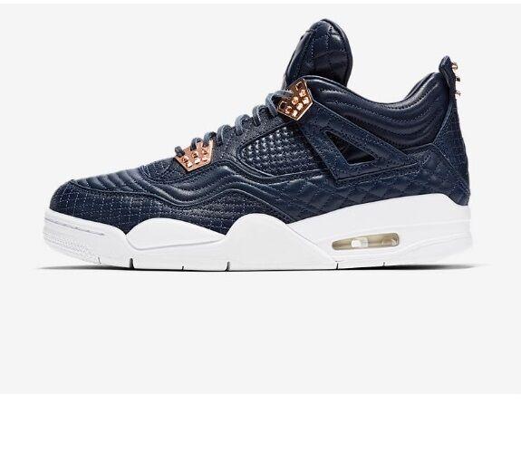 Nike air jordan 4 iv premio rosa d'oro 'ossidiana pinnacle sz w / ricezione