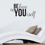 """Believe in Yourself Inspirational Life Quotes Wall Art Decal 20/"""" x 36/"""" Wall"""