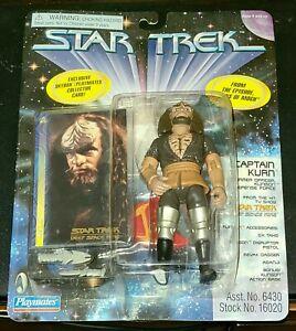 1997 STAR TREK DEEP SPACE NINE CAPTAIN KURN ACTION FIGURE PLAYMATES