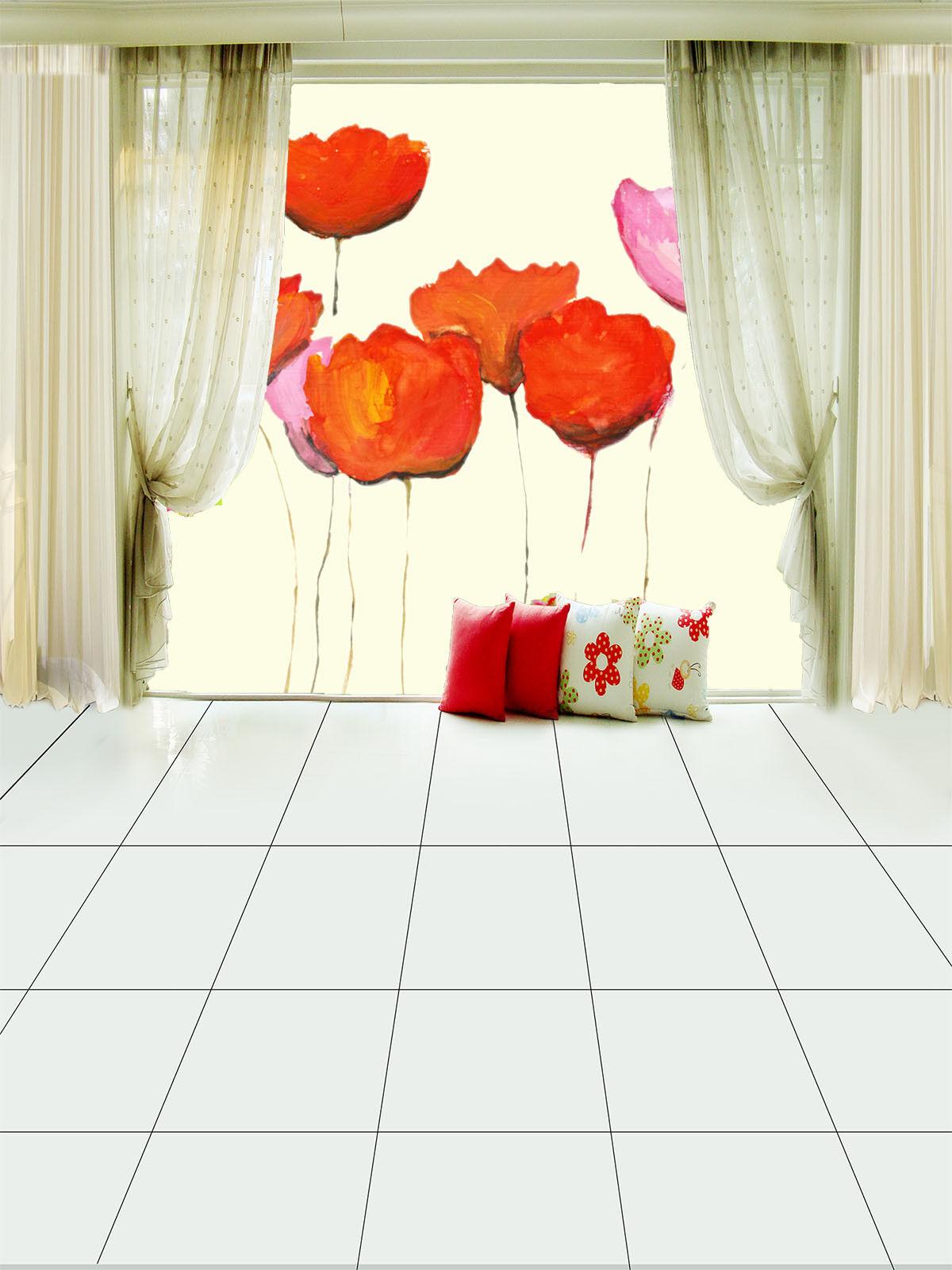3D Aquarell bluemen 753 Tapete Wandgemälde Tapete Tapeten Bild Familie DE Summer