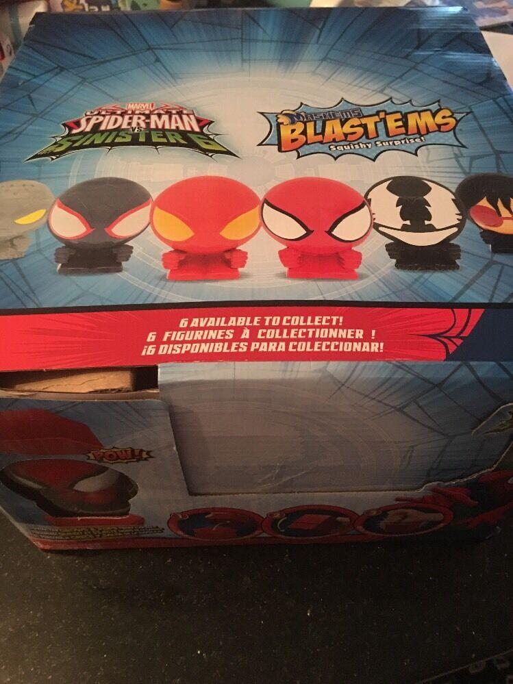 22x marvel ultimate spiderman vs kolonie 6 mashems blast'ems reihe 1 los.