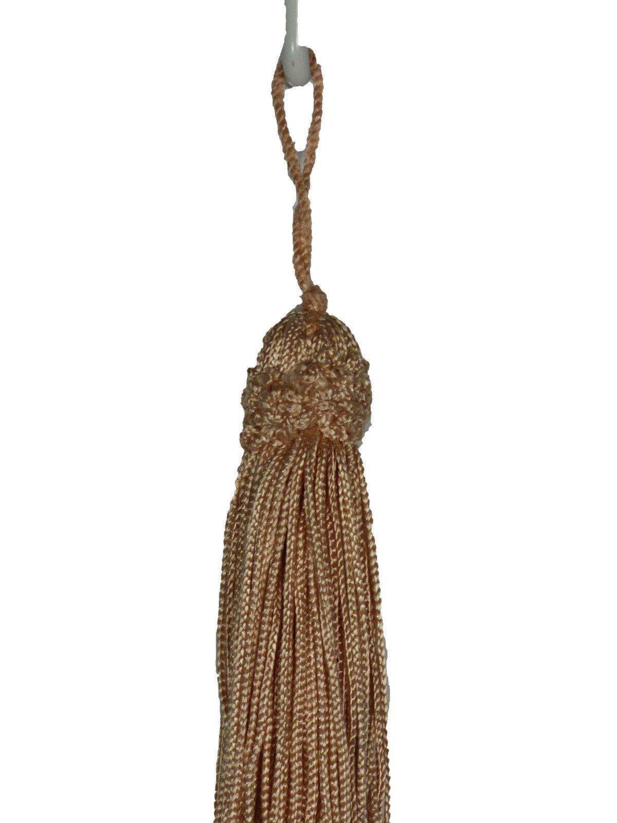 Lot of 2 Conso Trims Princess 11762 K30 DUSTY PEACH Decorative Chainette Tassel