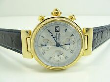 JACQUES LEMANS 1-860 AUTOMATIC HERREN CHRONOGRAPH 10MIC VERGOLDET WATCH OROLOGIO