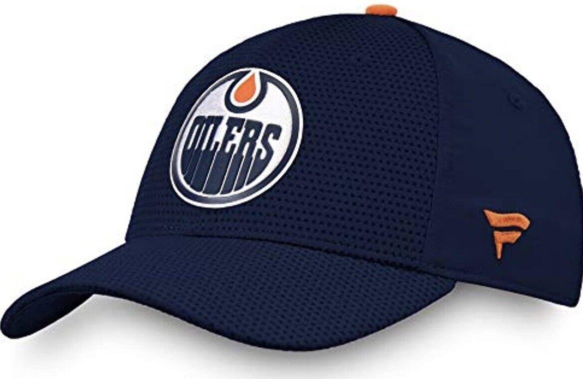 Fanatics Edmonton Oilers Marke Authentisch Pro Flex Für Rinkside NHL Cap Neue