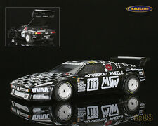BMW M1 MK MSW Motorsport Wheels Le Mans 1986 Witmeur/Libert/Kra. Minichamps 1:18