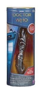 Doctor Who 12th Doctor/'s Deuxième Sonic Tournevis avec Lumières Et Son