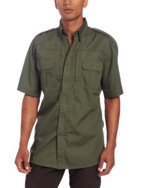 Propper Men's Short Sleeve Tactical Shirt, Olive, X-Small Regular