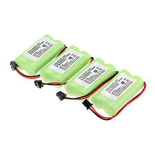 4pcs 1400mAh 2.4v Home Use Cordless Telephone Battery For Uniden BT-1007 BT1007