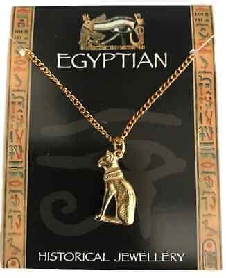 Chapado en Oro Estilo Egipcio Gato Con Solapa Corbata Tac-xwtt 009