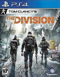 Tom-Clancy-039-s-The-Division-PS4-videogame-NO-SCRATCHES-tested-warranty