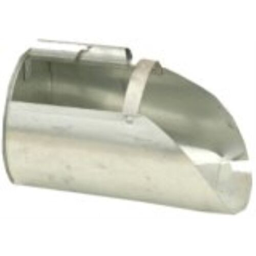 Brower F4 4-Quart Galvanized Feed Scoop