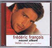 Cd Neuf Frederic Francois Un Slow Pour S'aimer