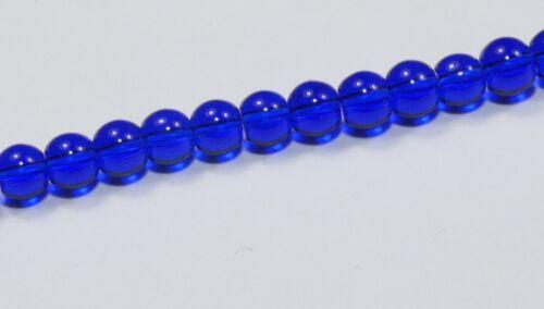 Perles de verre 4 mm-Strang-Neuf Top différentes couleurs