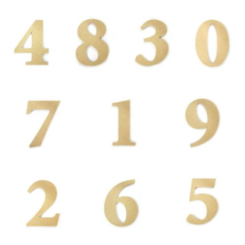 Full Number Set Large Wooden Numbers 28cm Wall Hanging Party Home Baby Birthday