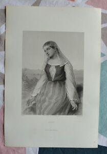 Belle Gravure XIXème - Agar - Bible - Religion - Gustave Staal - Egleton wYAwg3qn-09091554-417375560