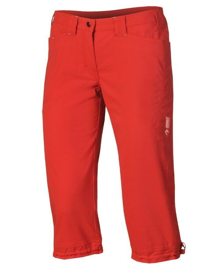 Direct Alpine Cortina 3 4 Pant, Outdoor Trousers for Girls in 3 4-länge, Red, XL