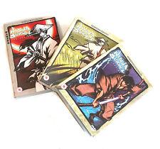 NINJA SCROLL - Manga Anime Graphic Comic Cartoon DVD set of 1- 3