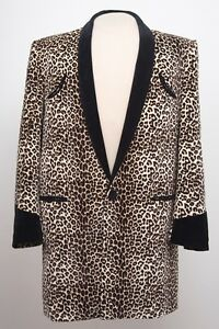 6ee88e56b22d Image is loading TEDDY-BOY-DRAPE-JACKET-IN-LEOPARD-SKIN-1950s-