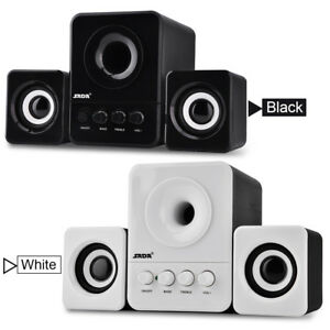 SADA USB2.1 Wired Combination Speaker Bass Music Player Subwoofer for Phone PC