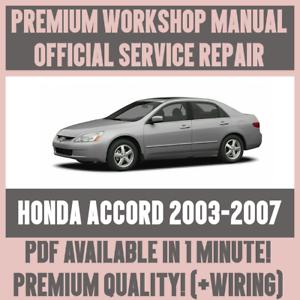 honda accord 2007 user manual pdf