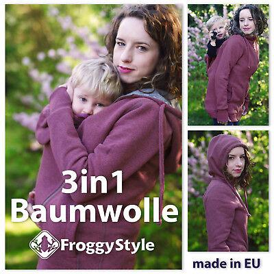 Baumwolle Tragejacke Umstandsjacke Für Tragetuch Babytrage Größe M Profitieren Sie Klein