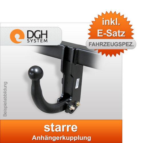 STARR inkl 13 pol E-SATZ SPEZ Für VW Touareg SUV 02-10 Anhängekupplung AHK
