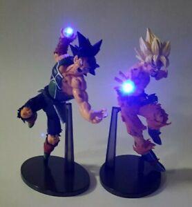 Rare Dragonball Z LED Super Saiyan 3 Goku figurine GREAT GIFT!