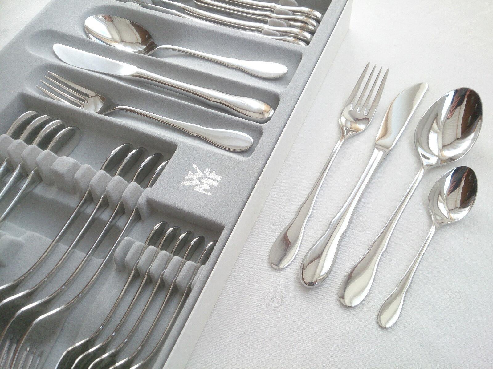 WMF MITTENWALD Cromargan 6 P. 24 pièces couteau fourchette cuillère café cuillère NEUF