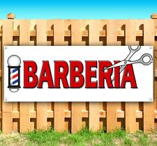 Barberia Spanish Barber Advertising Vinyl Banner Flag Sign Many Sizes Available