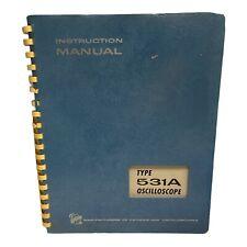Tektronix Type 531a Oscilloscope Instruction Manual