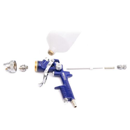 H-827P HVLP Lackierpistole Spritzpistole Spraypistole mit Rostfrei Düse 1,4mm