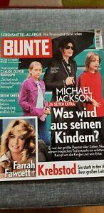 BUNTE-Magazin 28/2.7.2009-Michael Jackson(36 Seiten!),Farrah Fawcett,Ireen Sheer - Heusenstamm, Deutschland - BUNTE-Magazin 28/2.7.2009-Michael Jackson(36 Seiten!),Farrah Fawcett,Ireen Sheer - Heusenstamm, Deutschland