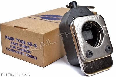 Park Tool SG-8 Threadless Saw Guide for Carbon Composite Forks New in Box