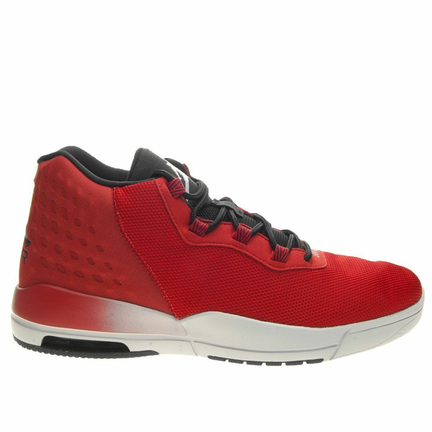 Nike Jordan Academy Mens Basketball Shoes Red Black 844515 600 SIZE 10 - 11.5