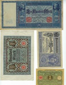 GERMANY-FROM-COLLECTION-VF-UNC-SEE-SCAN