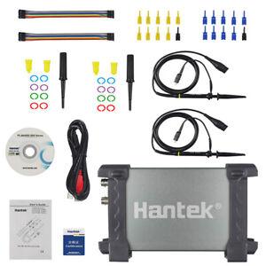 6022BL PC Digital Portable Oscilloscope Hantek Based USB Logic Analyzer 16 CHs