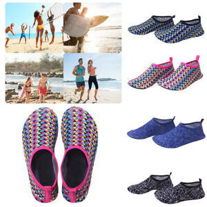 Details about Unisex Summer Beach Aqua Socks Water Barefoot Water Skin  Shoes Swim Surf Sea Wet