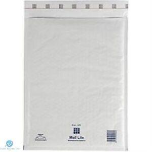 25 Mail Lite White K//7 JL7 Padded Envelopes 350 x 470mm