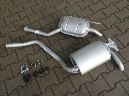 Auspuff für Mercedes 190 1.8 E 2.0 E W201 Auspuffanlage F136