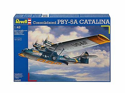 Revell - Consolidated PBY-5A CATALINA 1:48 Model Kit - 04507