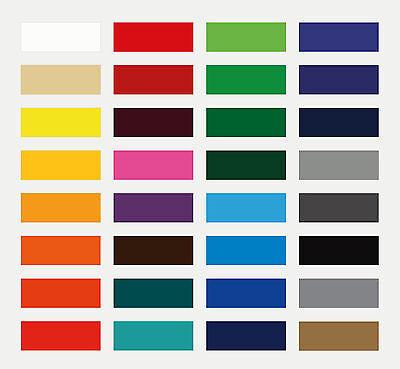 Möbelfolie * Dekofolie * Plotterfolie * 61 cm x 5 m * Glänzend * 30 Farben *