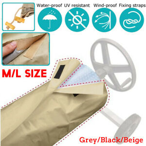 New-M-L-Size-Protective-Winter-Cover-For-Swimming-Pool-Solar-Blanket-Reel-Roller