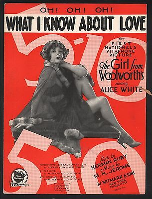What I Know About Love 1929 Alice White The Girl From Woolworth's